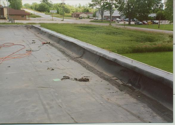 Flat Roof Walls : Flat roof repair