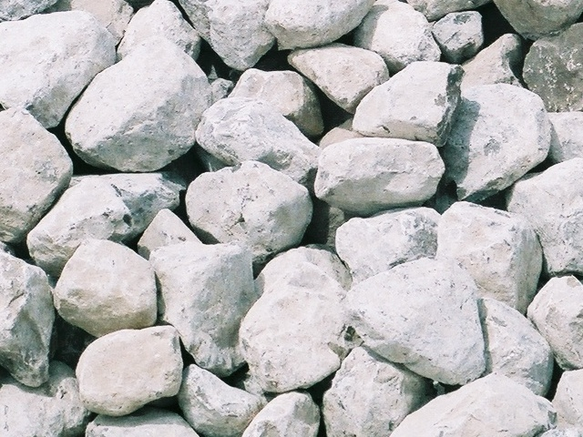 white rocks for garden landscape delivery white